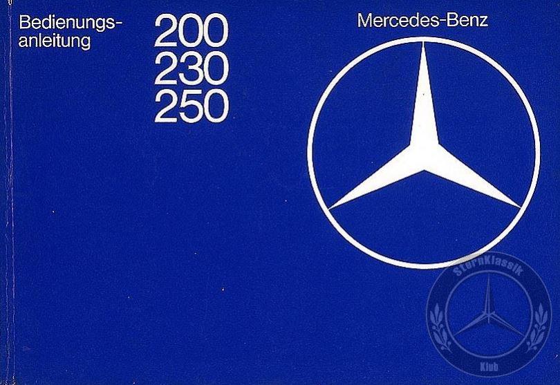 user-guide-service-book-mercedes-benz w123-200-230-250-200D-240D-300D-280CE-230CE-sternklassik-klub (2)
