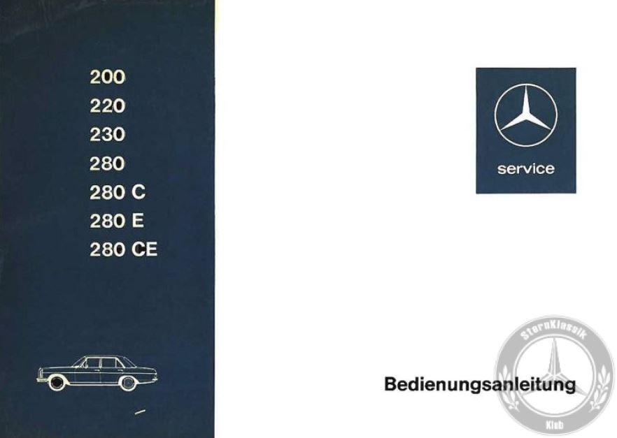 Mercedes-Benz-W115-manual-guide-foto-sternklassik-klub